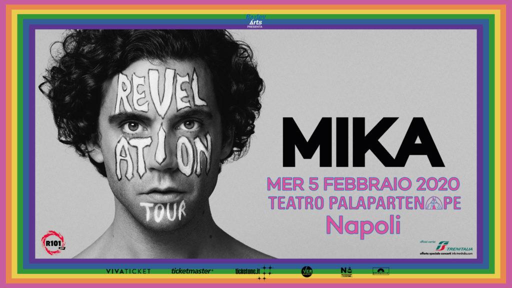 """MIKA NAPOLI 1024x576 MIKA RITORNA A NAPOLI IL 5 FEBBRAIO CON IL """"REVELATION TOUR"""""""