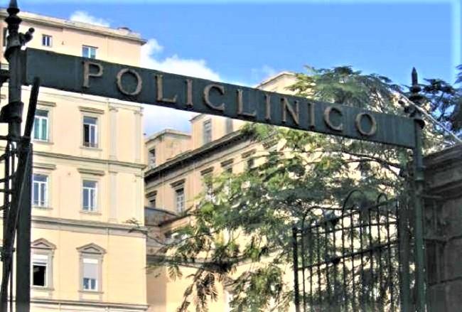 POLICLINICO VANVITELLI NAPOLI RIORGANIZZAZIONE ATTIVITÀ OSPEDALIERA, IL POLICLINICO VANVITELLI ATTIVA 100 POSTI LETTO COVID