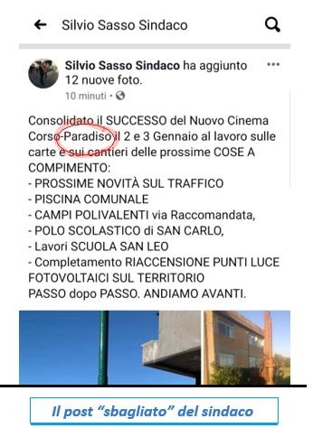 """POST ERRATO SASSO SINDACO SASSO IN POLEMICA CON LA SUA EX…ASSESSORA TOMMASINA CASALE…E INTANTO SESSA È UN """"FLOP DOPO FLOP""""!"""