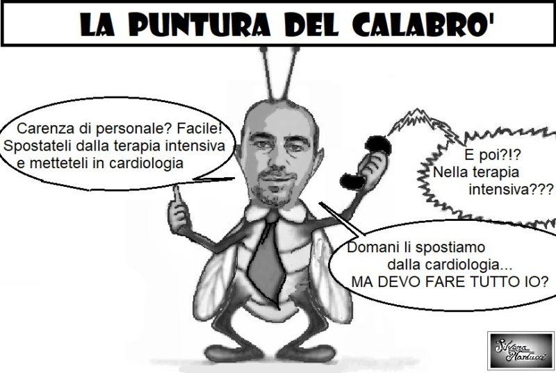 PUNTURA DEL CALABRO 29.01.20 scaled OSPEDALE, CARDIOLOGIA, CARENZE DI PERSONALE & GENIALATE