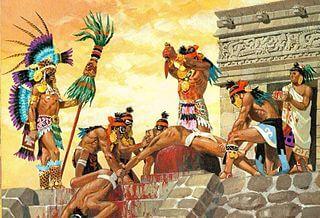 Sacrificio Azteca I MAYA, GLI ULTRA DELLA PELOTA