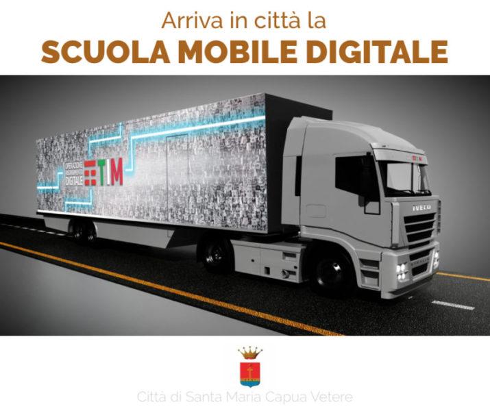 Scuola Mobile Digitale Santa Maria Capua Vetere scaled A SANTA MARIA CAPUA VETERE LA PIÙ GRANDE SCUOLA MOBILE DIGITALE GRATUITA