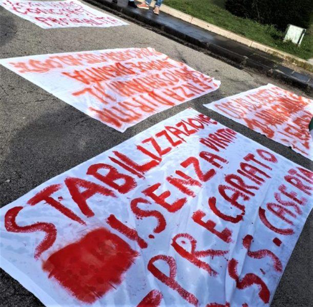 %name STABILIZZAZIONE: SINDACATI E OPERATORI SANITARI IN PROTESTA