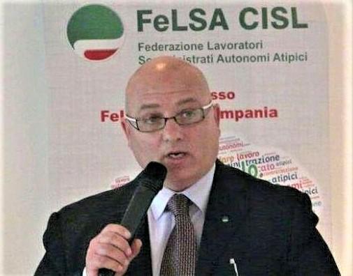 angelo magliacano jpg LAVORO SOMMINISTRATO, LA FELSA CISL PROCLAMA LO SCIOPERO PER IL 22