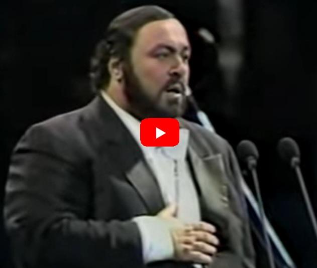 pavarotti LA NOTTE DI SAN LORENZO