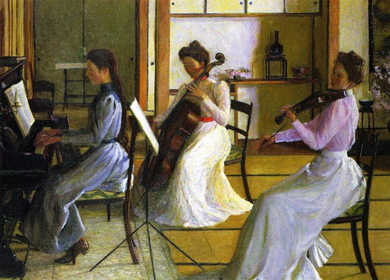 trio scaled LE DONNE E LA MUSICA