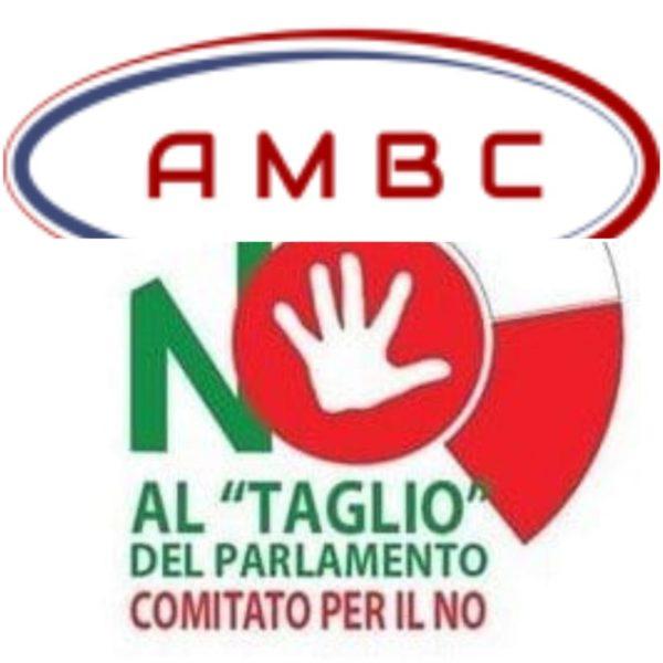 AMBC Logo Referendum scaled MONDRAGONE, AMBC: SETTE MOTIVI PER VOTARE NO ALLA RIDUZIONE DEI PARLAMENTARI