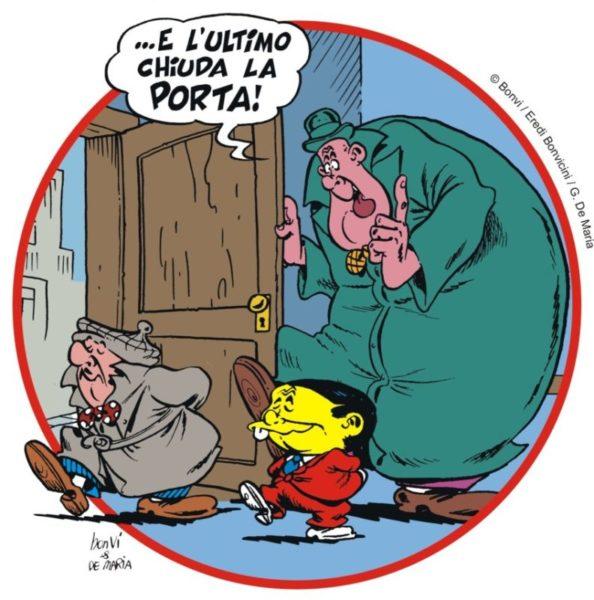 E lultimo chiuda la porta vignetta Bonvi scaled I SOLITI INGUACCHI DELLA POLITICA CASERTANA   Quinta puntata