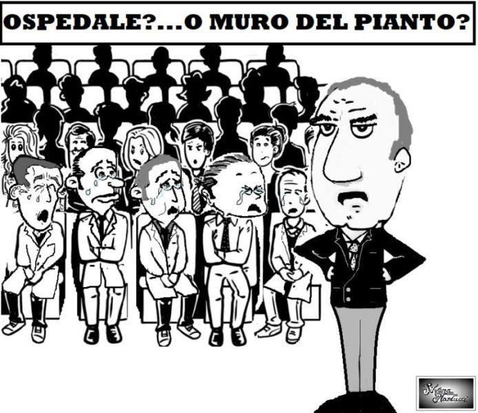 MURO DEL PIANTO scaled OSPEDALE, SCIVOLATE DI STILE… PRIMARIALI. MA CHE FIGURA!