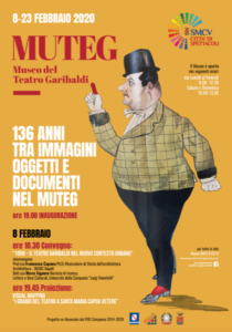 MUTEG manifesto 210x300 UNA MOSTRA PER RAPPRESENTARE LA STORIA DEL TEATRO GARIBALDI