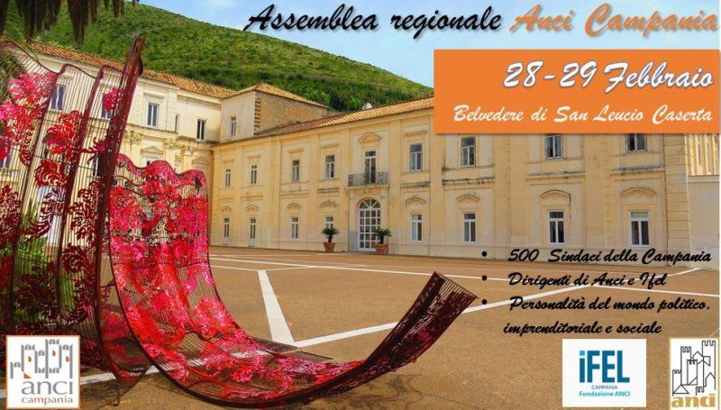 belvedere evento ANCI scaled ASSEMBLEA REGIONALE DI ANCI CAMPANIA IL 28 e 29 FEBBRAIO AL BELVEDERE DI SAN LEUCIO