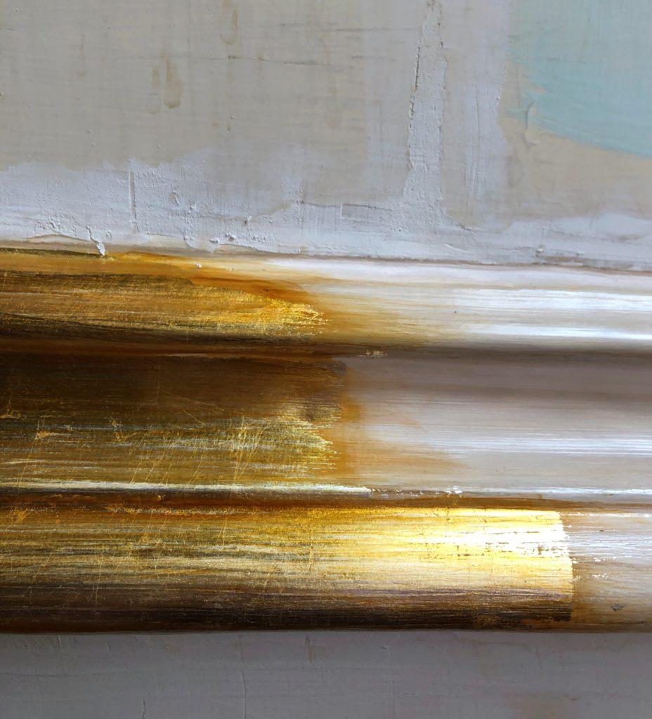 doratura metodo a missione 3 928x1024 RESTAURI REALI, TORNA L'ORO SUI PORTELLONI DELLA REGGIA DI CASERTA