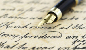 scrittura 300x174 PENULTIMO APPUNTAMENTO DI STRANE COPPIE SULLA SCRITTURA INTERNAZIONALE