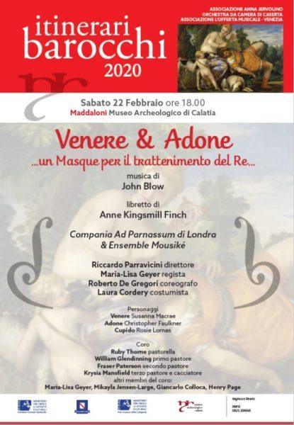 venere e Adone scaled MADDALONI: AL MUSEO ARCHEOLOGICO VENERE & ADONE