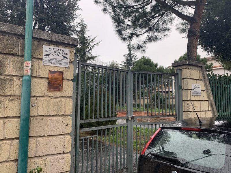 villetta vianapoli4 scaled SAN PRISCO, VILLA COMUNALE DI VIA NAPOLI CHIUSA: LINTERVENTO DELLASSOCIAZIONE 'PROGETTO TIFATA'