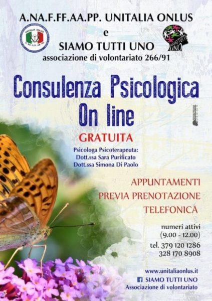 Assistenza psicologica on line scaled SESSA AURUNCA, EMERGENZA COVID 19: LE INIZIATIVE DELLASSOCIAZIONE SIAMO TUTTI NOI