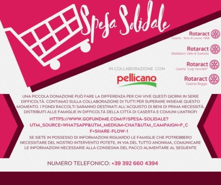 %name I CLUB ROTARACT DELLA PROVINCIA DI CASERTA ORGANIZZANO LA SPESA SOLIDALE