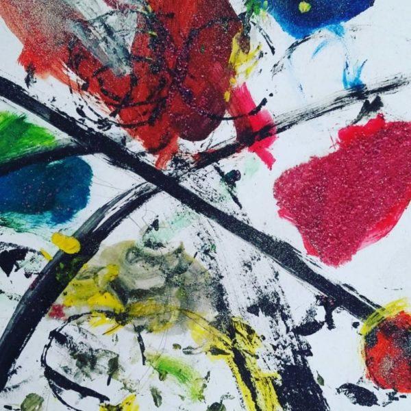 """Disegno di Lorenzo Cauz anni 3 scaled GIOCO CONCORSO PER BAMBINI  """"ASCOLTA LA MUSICA E DISEGNA BIMBO""""  SCATENA LA TUA CREATIVITÀ!"""