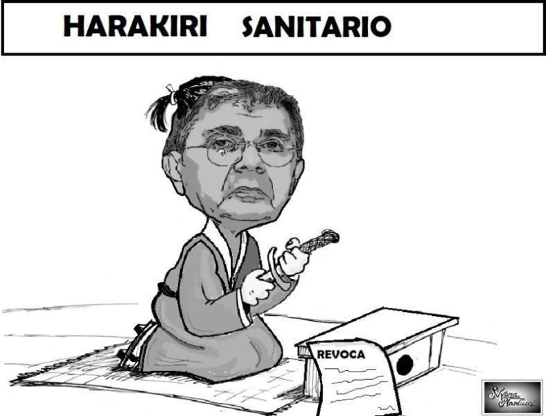 HARAKIRI SANITARIO scaled ASL, IL DIRETTORE GENERALE FA HARAKIRI