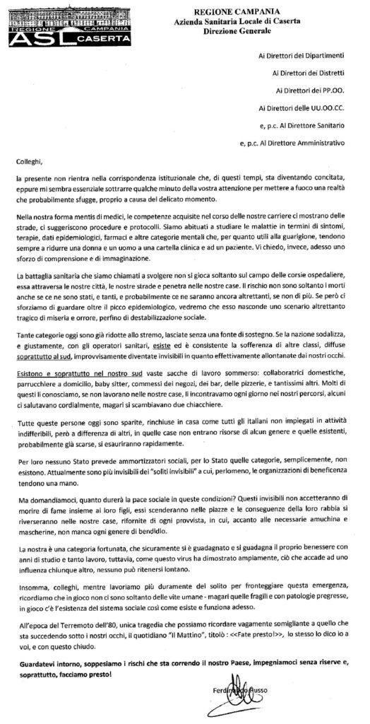 LETTERA RUSSO ASL 524x1024 ASL, IL DG, GLI INVISIBILI E LE INDAGINI SOCIOLOGICHE...