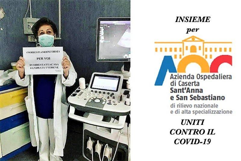 %name UNITI CONTRO IL COVID 19: LA DOTTORESSA POTENZA ORGANIZZA RACCOLTA FONDI PER LAORN DI CASERTA