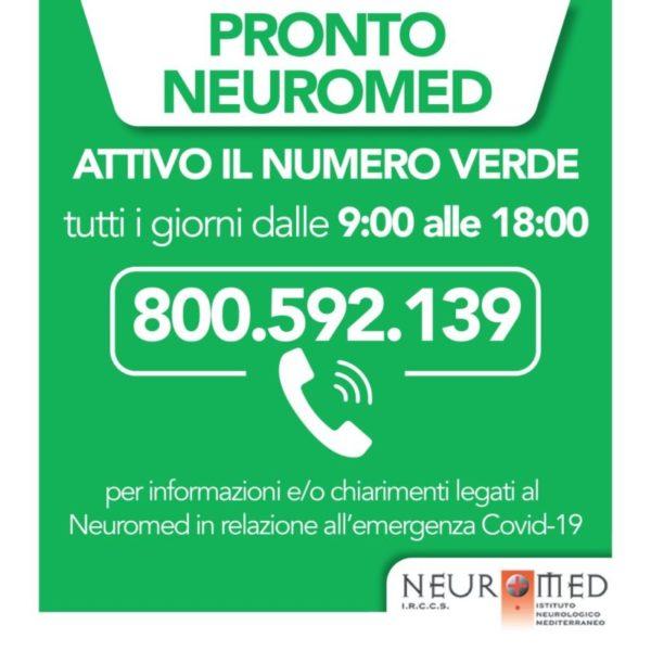 %name COVID 19: FILO DIRETTO TRA NEUROMED E CITTADINI