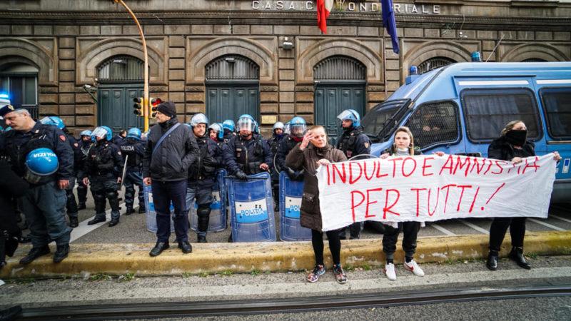RIVOLTA CARCERI ANSA 2 scaled RIVOLTE NELLE CARCERI DI TUTTA ITALIA: 20 DETENUTI SAREBBERO EVASI DALLISTITUTO FOGGIANO