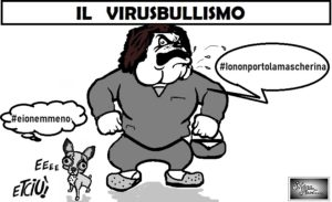 VIRUSBULLISMO 17.03.20 300x183 LE VIGNETTE DI SILVANA
