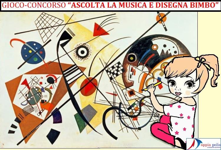 """concorso big GIOCO CONCORSO PER BAMBINI  """"ASCOLTA LA MUSICA E DISEGNA BIMBO""""  SCATENA LA TUA CREATIVITÀ!"""