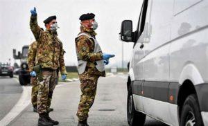 esercito CONTROLLI 300x182 150 MILITARI A MARCIANISE E ORTA DI ATELLA, ZONE ROSSE IN CAMPANIA