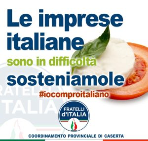 iocomproitaliano 300x286 SOSTEGNO AL MADE IN ITALY, FDI CASERTA LANCIA LA CAMPAGNA #IOCOMPROITALIANO