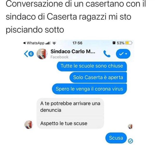 %name IL SINDACO CARLO MARINO L'AMICO DELLA GIOVENTÙ CASERTANA. VUOI VEDERE CHE MATT GROENING SI È ISPIRATO A LUI PER MR. BURNS?