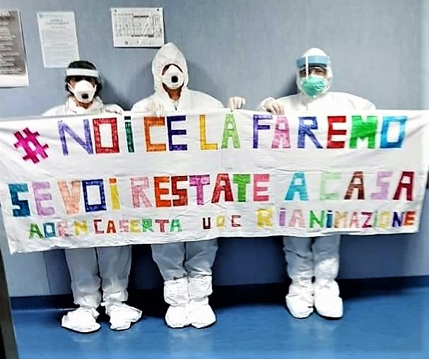 %name AORN CASERTA, UOC DI RIANIMAZIONE: IL MESSAGGIO DEGLI OPERATORI