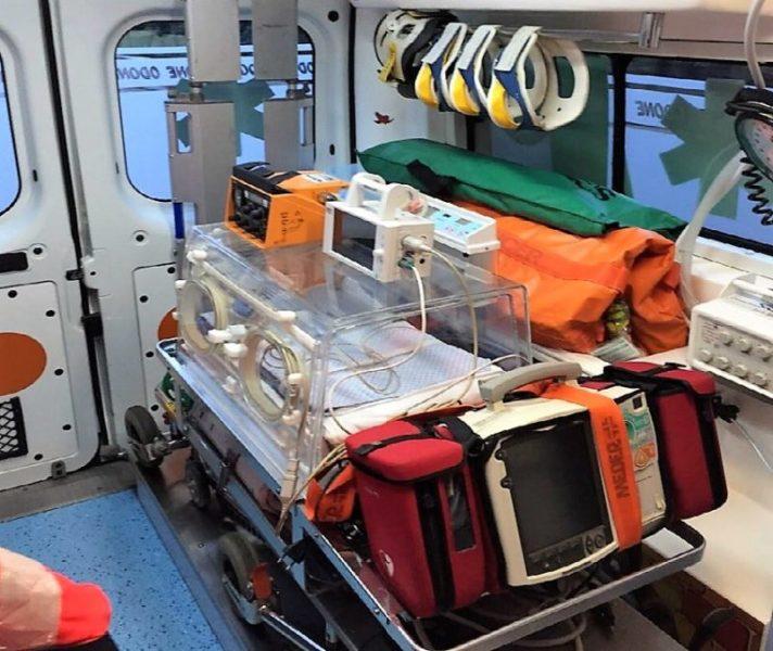 """trasporto neonatale  scaled OSPEDALE, GLI AUTISTI DEL TIN """"RINFORZANO"""" L'EMERGENZA…STRATEGIE DEL SOTTOSCALA…"""