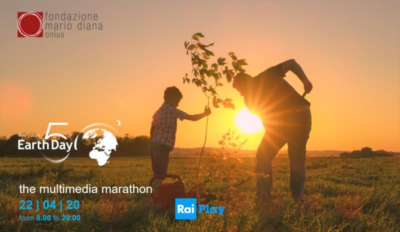 FMD 50° Earth Day multimedia marathon  50° GIORNATA DELLA TERRA, MARATONA MULTIMEDIALE RAI: FONDAZIONE MARIO DIANA PARTNER DI EARTH DAY ITALIA