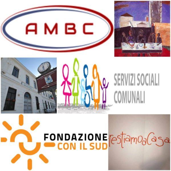 Logo AMBC Non di solo pane Fondazione con il Sud 1 scaled MONDRAGONE, EROGAZIONE BUONI SPESA: INTERVIENE LAMBC