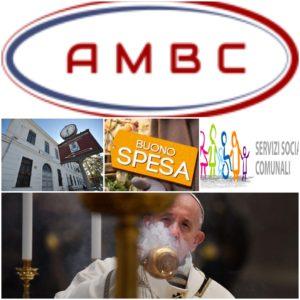 Logo AMBC Papa Francesco 300x300 MONDRAGONE, AMBC: EMERGENZA VISSUTA TRA RITARDI, SCORRETTEZZE ED INCAPACITÀ