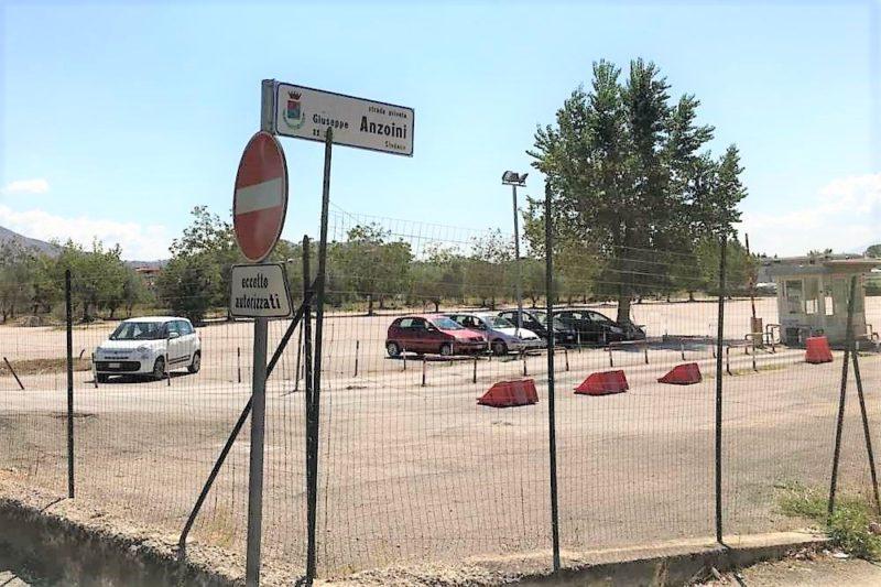 Parcheggio ospedale e1517843113755 scaled AORN, INIZIATI I LAVORI DELL'OSPEDALE DA CAMPO MODULARE