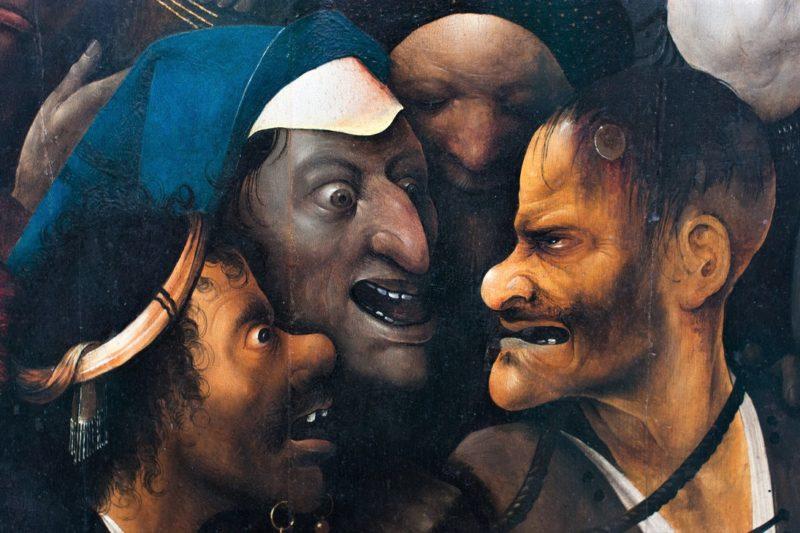 Salita al Calvario di Cristo H.Bosch  scaled MALDICENZA