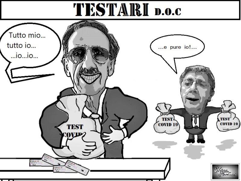 TESTARI DOC scaled ASL CE E ASL NA2, TEST SIEROLOGICI RAPIDI, PROPAGANDA & SCIVOLONI