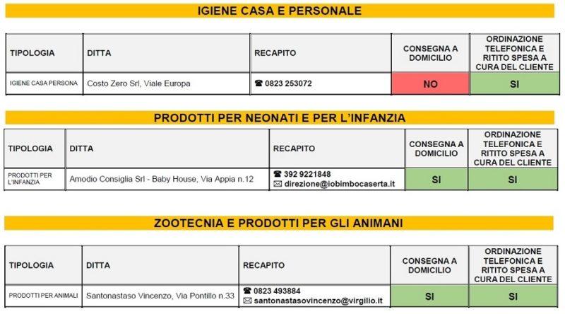 casagiove 5 scaled IL COMUNE DI CASAGIOVE ATTIVA IL SERVIZIO CONSEGNA SPESA A DOMICILIO: ECCO LELENCO DEGLI ESERCIZI COMMERCIALI DISPONIBILI