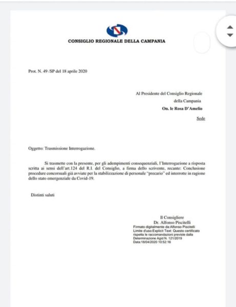doc.piscitelli 1 scaled SANITÀ, ALFONSO PISCITELLI: LA SITUAZIONE DEVE ESSERE RISOLTA