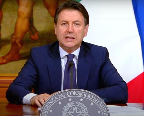 giuseppe conte Le odiose bugie del Pavone