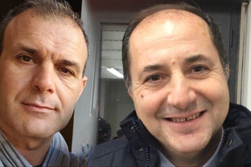 Antonio Porto Antonio Borrelli  scaled IL QUESTORE DI CASERTA INCONTRA IL SINDACATO DEI POLIZIOTTI LES