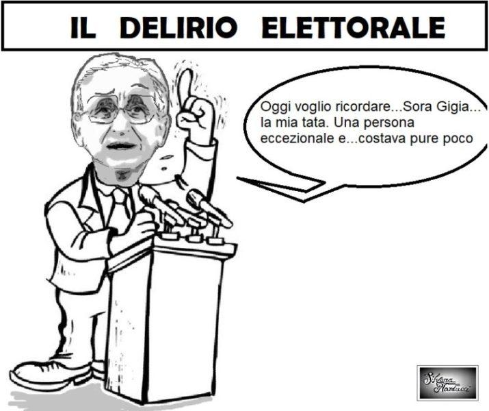 DELIRIO ELETTORALE scaled LA VIGNETTA DEL GIORNO