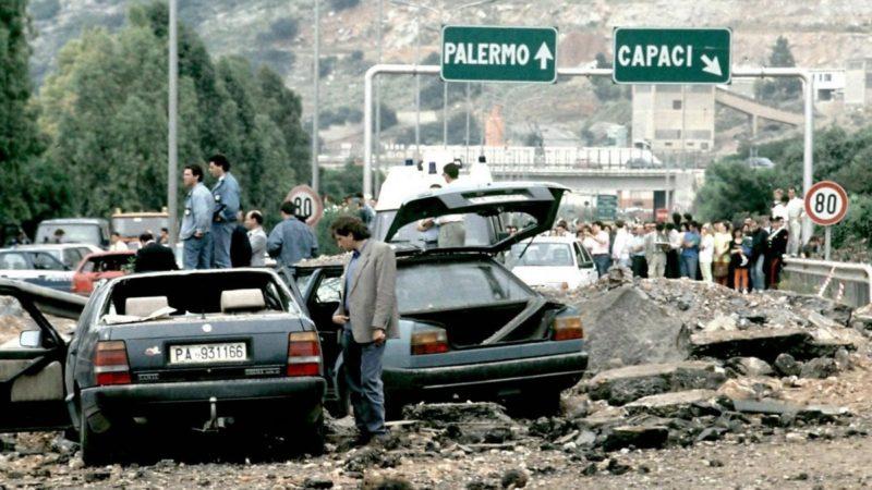 STRAGE CAPACI scaled VENTOTTO ANNI FA LA STRAGE DI CAPACI: IL RICORDO DI DEL MONACO