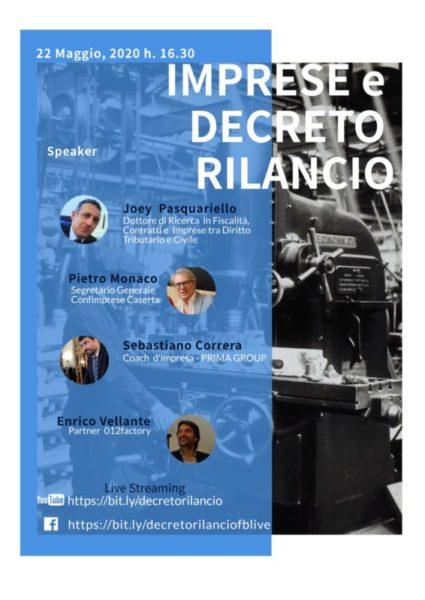 %name DECRETO RILANCIO, SE NE PARLA ON LINE: ECCO COME COLLEGARSI