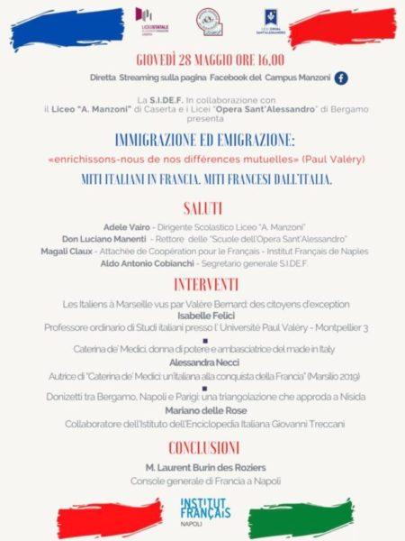 locandina evento on line 1 scaled NUOVE FRONTIERE NELLINSEGNAMENTO DELLA LINGUA FRANCESE, IN UN GEMELLAGGIO CULTURALE, DIDATTICO E… UMANO