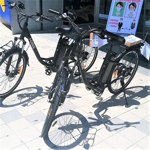 Bici elettriche SANTA MARIA CAPUA VETERE, VIGILI IN BICI ELETTRICHE: