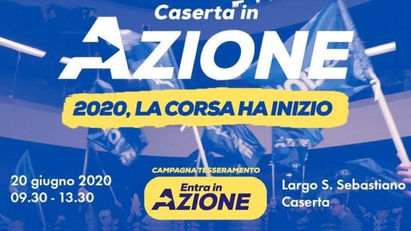 %name CASERTA IN AZIONE AVVIA IL TESSERAMENTO